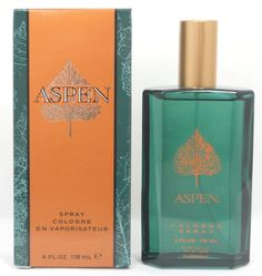 Aspen by Coty for Men, 4 ounce Cologne Spray