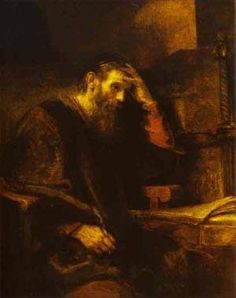 The Apostle Paul 1657 Painting by Rembrandt | Oil Painting