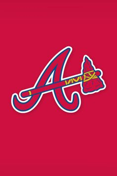 Braves Alternate A on red New York Yankees Baseball, Braves Baseball, Brave Wallpaper, Iphone Wallpaper, Inspirational Quotes Wallpapers, Buster Posey, Sports Wallpapers, Oakland Athletics, Seattle Mariners