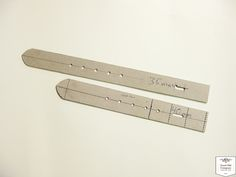 Simple handy leather belt pattern for leather workers - good old Company