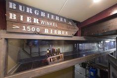 De biertunnel!! Transport van bier tussen bierwinkel Burg Bieren en Speciaalbier café de Hazeburg in Ermelo