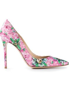 Shop now: Mary Katrantzou floral pumps