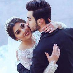 Indian Wedding Couple Photography, Wedding Couple Poses Photography, Wedding Couple Photos, Pre Wedding Photoshoot, Wedding Poses, Wedding Couples, Pakistani Wedding Outfits, Muslim Wedding Dresses, Christian Wedding Gowns