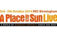 """Personal Invitation to """"A Place in the Sun  Well summer is now in full swing, and it's time, if you are  seriously thinking about buying property overseas or arranging your visit to NEC Birmingham, 3rd – 5th October for  """"Place in the Sun Live"""", built around the TV Overseas Property Series. Meet experts and celebrities  who can help with their knowledge of the overseas market,  find that holiday home, investment property or retirement home for now or the future."""