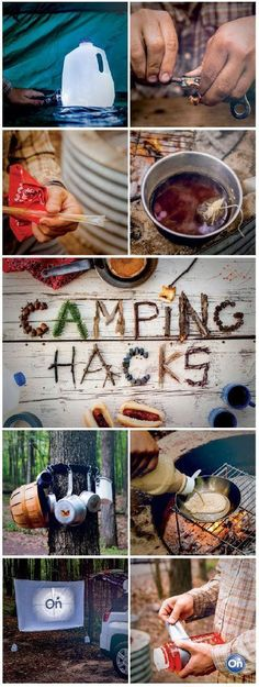 8 camping hacks every outdoor enthusiast should know.