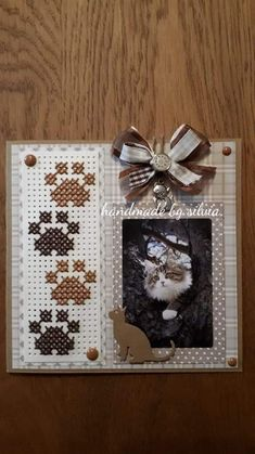 Mini Cross Stitch, Cross Stitch Cards, Marianne Design, Paper Cards, Burlap, Arts And Crafts, Birthday, Frame, Handmade