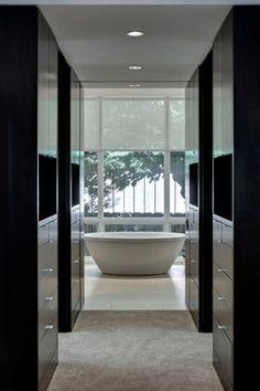 Ensuite Bathroom Walk In Wardrobe walk through wardrobe to ensuite bathroom   abode - bedroom