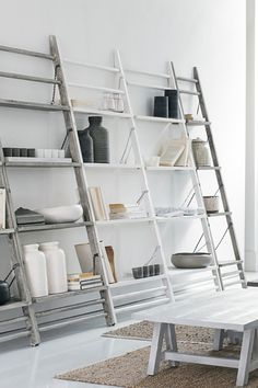 French connection leaning shelves