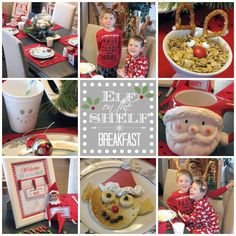 Elf on the Shelf Welcome Breakfast from @Jennifer Milsaps L @ Clean and Scentsible