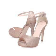 leona metallic peep toe shoes from Carvela Kurt Geiger