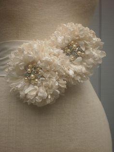 wedding  Bridal Sash