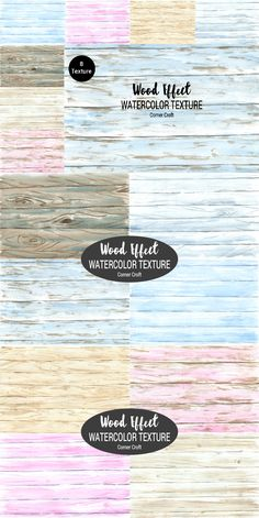 Hand painted watercolour wood texture, dry washed wood effect, instant download, free for commercial use.
