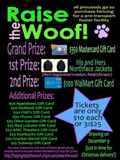 AWESOME Fundraiser going on NOW. I am one of the people in charge so buy your tickets with confidence. Awesome Prizes with proceeds of tickets going to save lives of shelter animals <3 https://www.facebook.com/photo.php?fbid=499649886733182=a.499649863399851.115411.499649556733215=1