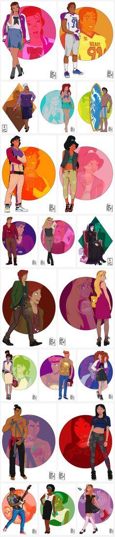 Disney Tattoo - Disney University by - PART 1 - Cavalcade - Walt Disney, Disney Pixar, Disney High, Disney And More, Disney Memes, Disney Fan Art, Cute Disney, Disney And Dreamworks, Disney Girls