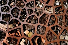 Urban Insect Hotel  Mathematically-inspired bug houses designed to promote urban biodiversity