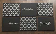 Hey, I found this really awesome Etsy listing at https://www.etsy.com/ca/listing/481642965/always-kiss-me-goodnight-collection