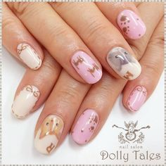 Nails with cats