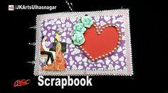 How to make a Scrapbook |  DIY Scrapbook Tutorial |  Valentine's Day Gif...