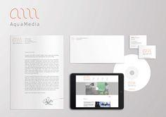 Aquamedia by & Graphic Design Studio , via Behance