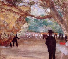 Edgar Degas - the Curtain-WikiPaintings.org