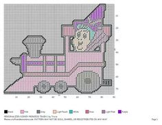 Personalized princess train