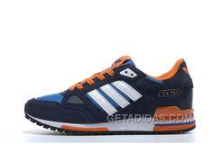 ac3d0f83c Adidas Zx750 Men Dark Blue White Orange Discount