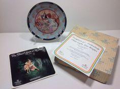 VILLEROY BOCH Heinrich Once Upon A Rhyme Star Light Star Bright Plate Box COA