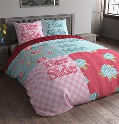 Sleeptime Dekbedovertrek Flower Sides Multi is gemaakt van 100% Micropercal. Deze stof is ademend en vochtregulerend en voelt zacht en soepel aan. Een goede nachtrust is met dit dekbedovertrek gegarandeerd. Doordat dit overtrek strijkvrij is ziet het er altijd heel netjes uit.