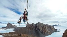 Mike Libecki & Cory Richards: Antarctic Mountain Climbing