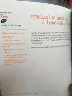 Syn free Smoked salmon pâté