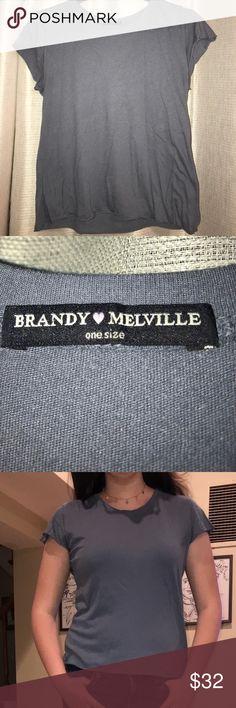 BRANDY MELVILLE BASIC TEE Trendy Brandy Melville Tops