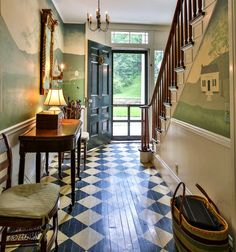 Colonial Decorating | Entry