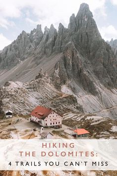 With soaring peaks and verdant forests, the Dolomites in Italy are a playground for adventure lovers. These are four of the best hikes in the Dolomites. Italy Travel Tips, New Travel, Travel Info, Sella Ronda, Hiking Europe, Travel Europe, Croatia Travel, Thailand Travel, Destination Voyage