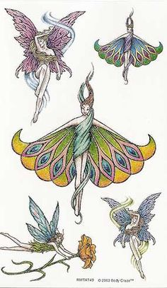 Latest Colored Fairy Tattoos Designs For Girls Wing Tattoo Designs, Fairy Tattoo Designs, Tattoo Designs For Girls, Fairy Wing Tattoos, Fairy Wings Drawing, Diy Wings, Fairy Pictures, Tattoo Images, Faeries