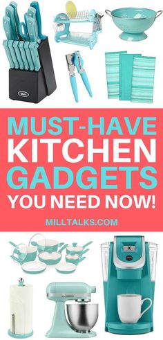 Must Have Kitchen Gadgets Looking for some fun kitchen gadgets? Here's a list of 40 gadgets your kitchen needs whether your just starting out or looking for something new! The post Must Have Kitchen Gadgets appeared first on Wohnaccessoires. Must Have Kitchen Gadgets, Must Have Gadgets, Kitchen Must Haves, Kitchen Tools And Gadgets, Cooking Gadgets, Cooking Tools, Kitchen Items, Kitchen Utensils, Kitchen Gifts
