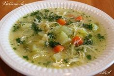 CUKETOVÁ POLÉVKA Cheeseburger Chowder, Thai Red Curry, Soup Recipes, Food And Drink, Ethnic Recipes, Soups, Essen, Soup, Soap Recipes