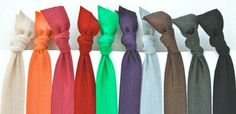 Soft Stretchy Yoga HEADBANDS PICK 6 Women's Hair by preppypieces, $16.00