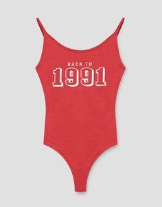 Body print 1991 - Noutăți - Femei - PULL&BEAR România
