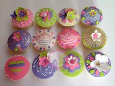 Vintage Design Cupcakes