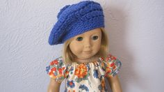 Handmade Doll Clothes for American Girl Kit Jeans blouse and