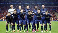 Galatasaray vs Atleti // Once inicial // 0-2