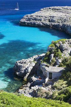 Cala Binidali, Menorca. Illes Balears (Spain)