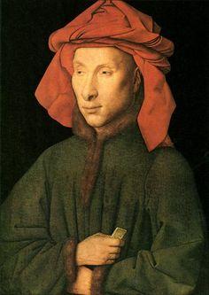 Portrait of Giovanni Arnolfini, 1435 - Jan van Eyck