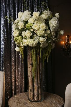 Rustic inspired flower arrangement ~ Events in Bloom ~ Photo: D. Jones Photography