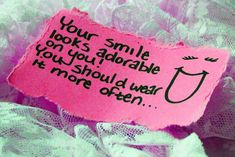 Your smile looks adorable on you! You should wear it more often... #kozbraces #kozlowskiorthodontics #smilequotes