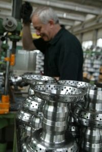 Borrani wire wheels are STILL handmade in Italy and have been for over 90 years!