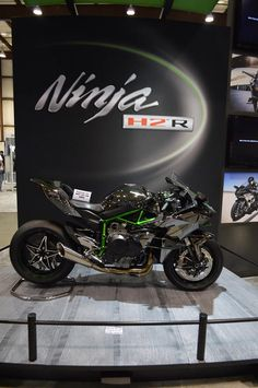 Here it is, the Kawasaki USA Ninja H2R! — with Eddy Gangani, Sachinthana Shehan, Eben Lee Hall, Akshay Waychal, Mindflicker Kaif and Will Russ at San Mateo County Event Center.