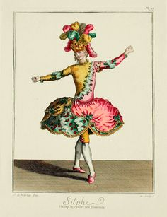 Sylph dans le Balet des Elements (1770s?)