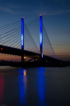 Indian River Inlet Bridge . Rehoboth Beach Delaware