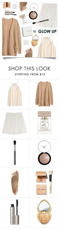 """Moments To Glow Up ..."" by marina-volaric ❤ liked on Polyvore featuring beauty, H&M, Vanessa Bruno, Bella Freud, Sigma, Charlotte Russe, Bobbi Brown Cosmetics, Ilia, Too Faced Cosmetics and glowup"